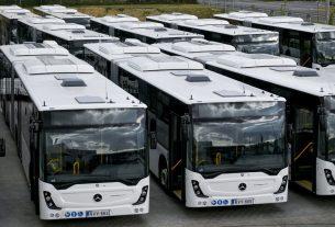Új volánbuszok Debrecenben