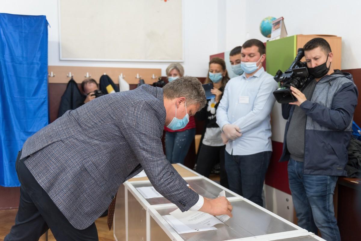 Romániai választás