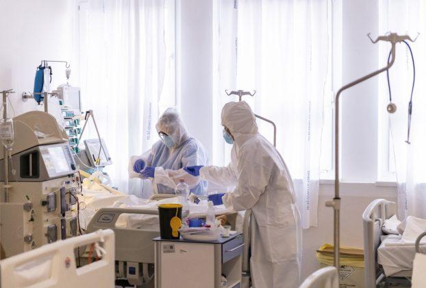 Intenzív osztály. kórház